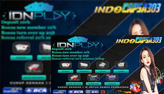 IDNPlay ♠ Agen Ceme Online Teraman Di Indonesia