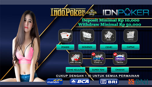 Agen Poker IDNplay Paling Mantul Di Indonesia