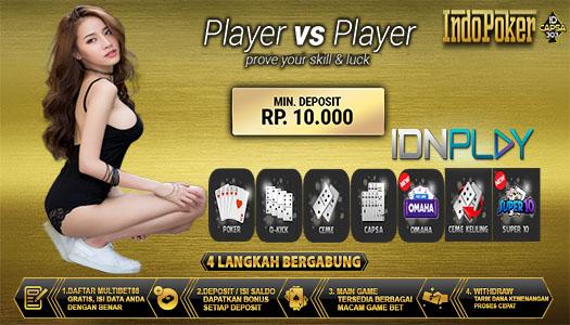 Idn Poker Terpercaya Situs Idnplay